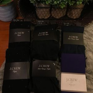Jcrew Tights 6 for $20